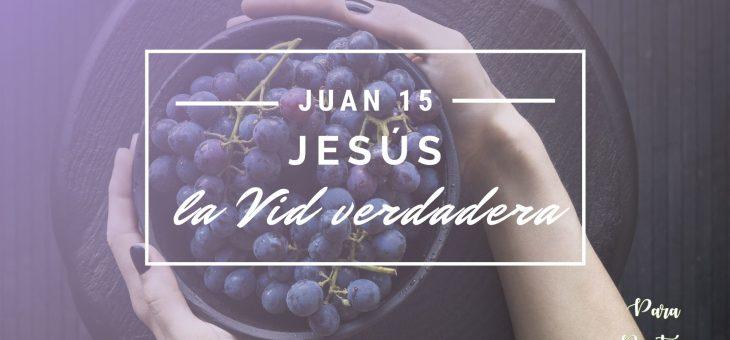 Jesús, la Vid verdadera